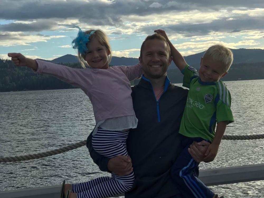 Ryan Crandall his children | Crandall Law Group | Hayden, Idaho